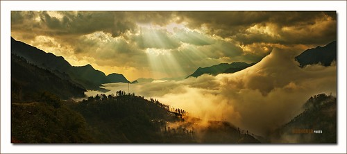 travel sky cloud nature sunrise landscape sapa canon5dmark2 moustain làocaivietnam lencanon35mmf14l