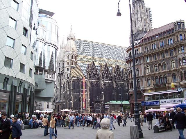 Stephansplatz-Vienna-Austria