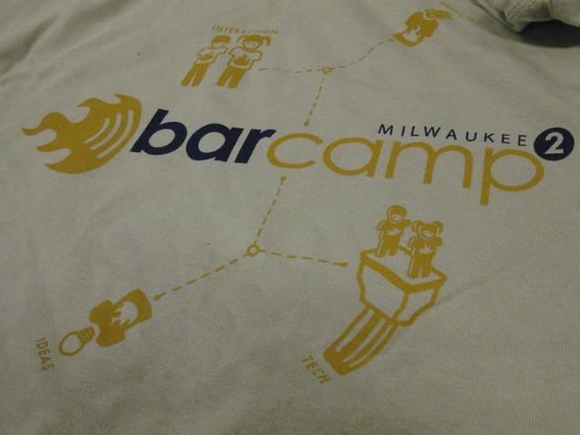 Extra BarCampMilwaukee2 Shirts