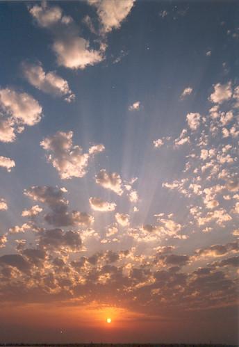 Coucher de soleil à Gâvres XXXV