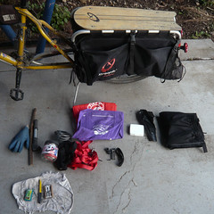 Bike bag contents