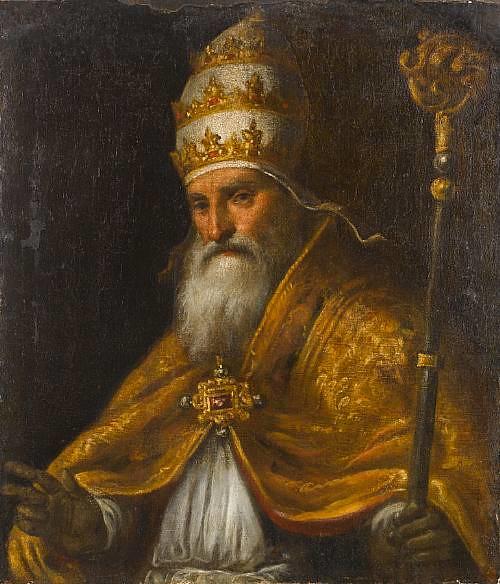 Pope Pius V by Palma il Giovane