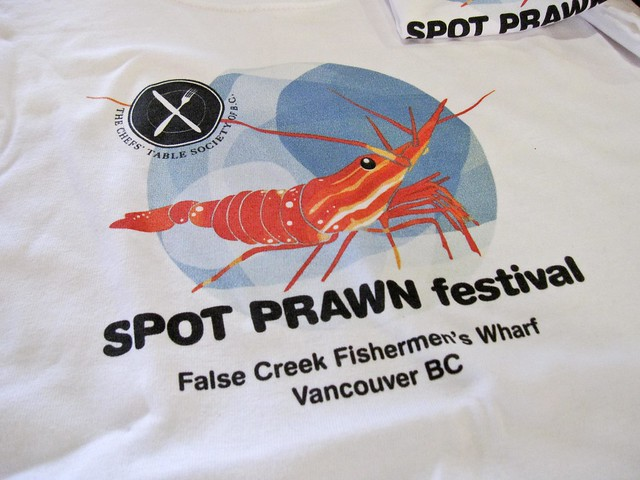 Spot Prawn Festival 2011 t-shirt