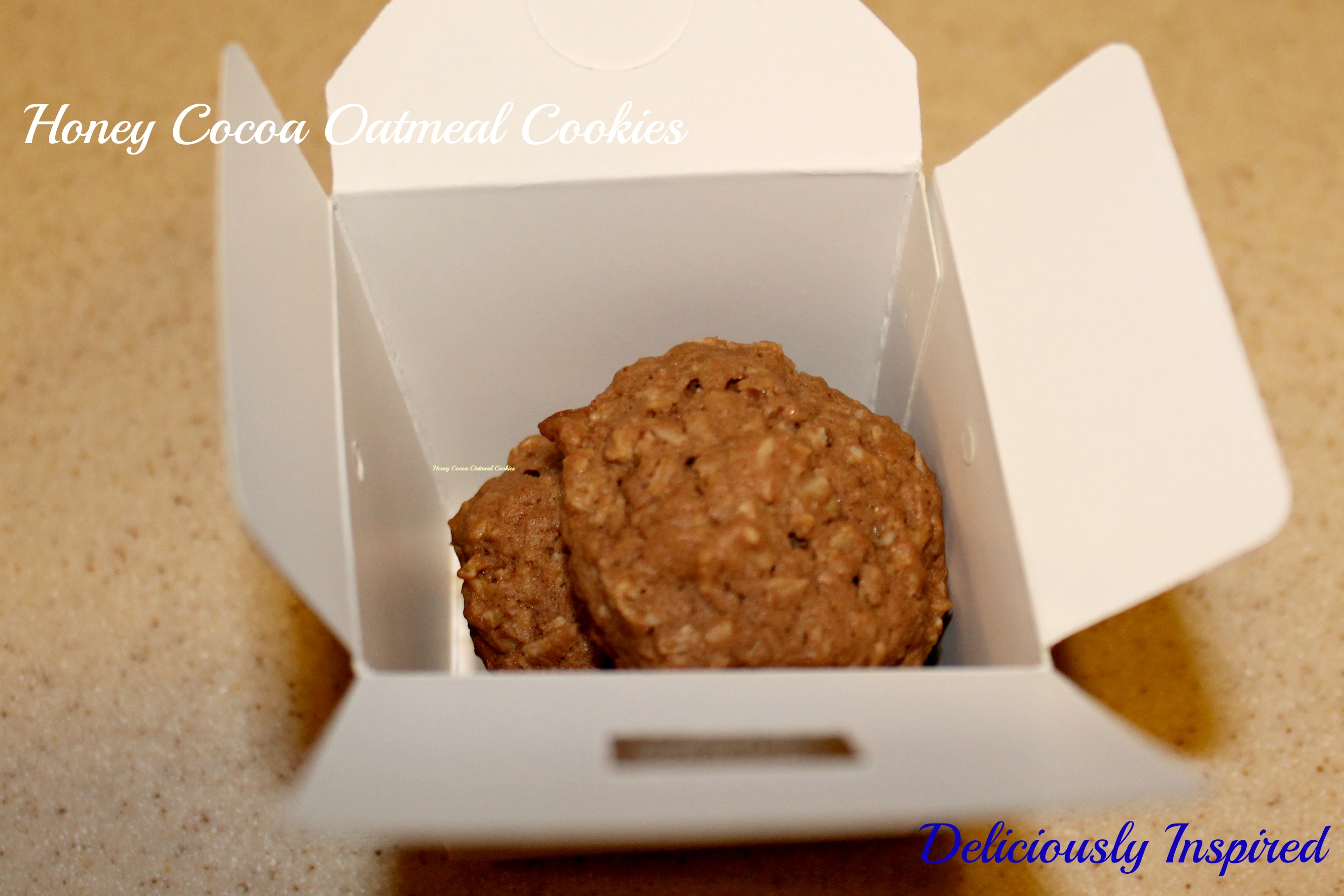 Honey Cocoa Oatmeal Cookies - Gift