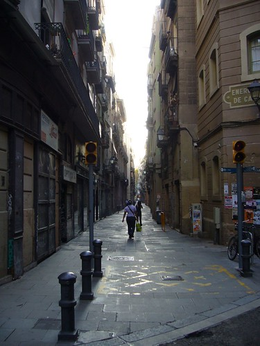 Typical pedestrian street