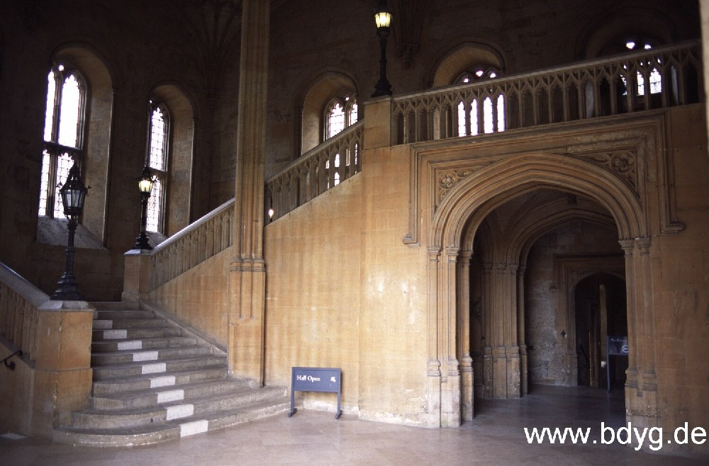 Harry Potter -- Oxford, Christ Church College - a photo on ...