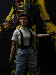 Aliens Power Loader with Ellen Ripley by Hot Toys