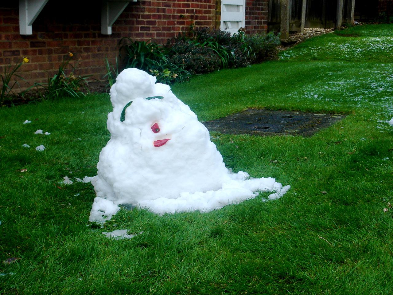ugly snowman