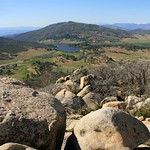 View from Stonewall Peak.  Cuyamaca Rancho State Park