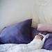 falling asleep on his sister's bed by sesame ellis