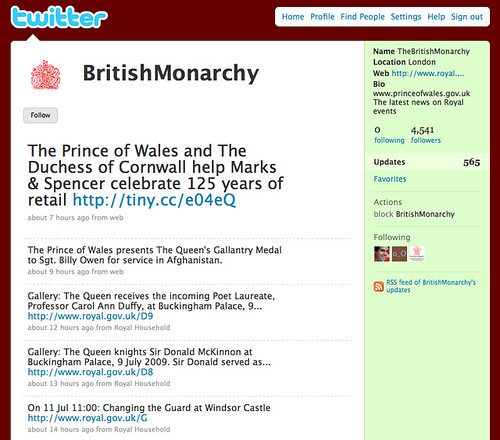 British Royal Family Joins Twitter