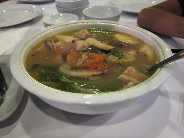 Sinigang na baboy at Antonio's Grill, Tagaytay