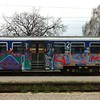 If you like putting paint on trains, there are plenty of opportunities in Croatia.