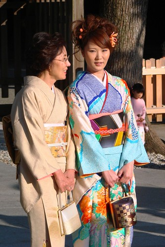 Shinto wedding guests