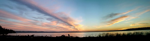 sunset panorama nature clouds nubes nuages desmoineswa