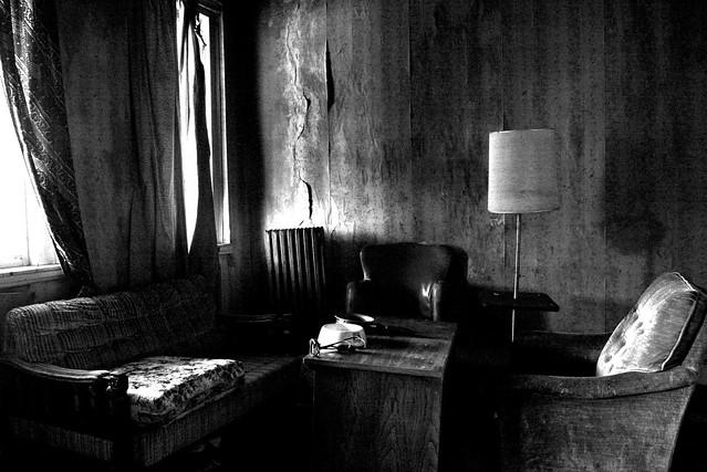 creepy living room flickr photo sharing
