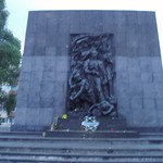 Monument to Warsaw Ghetto Uprising
