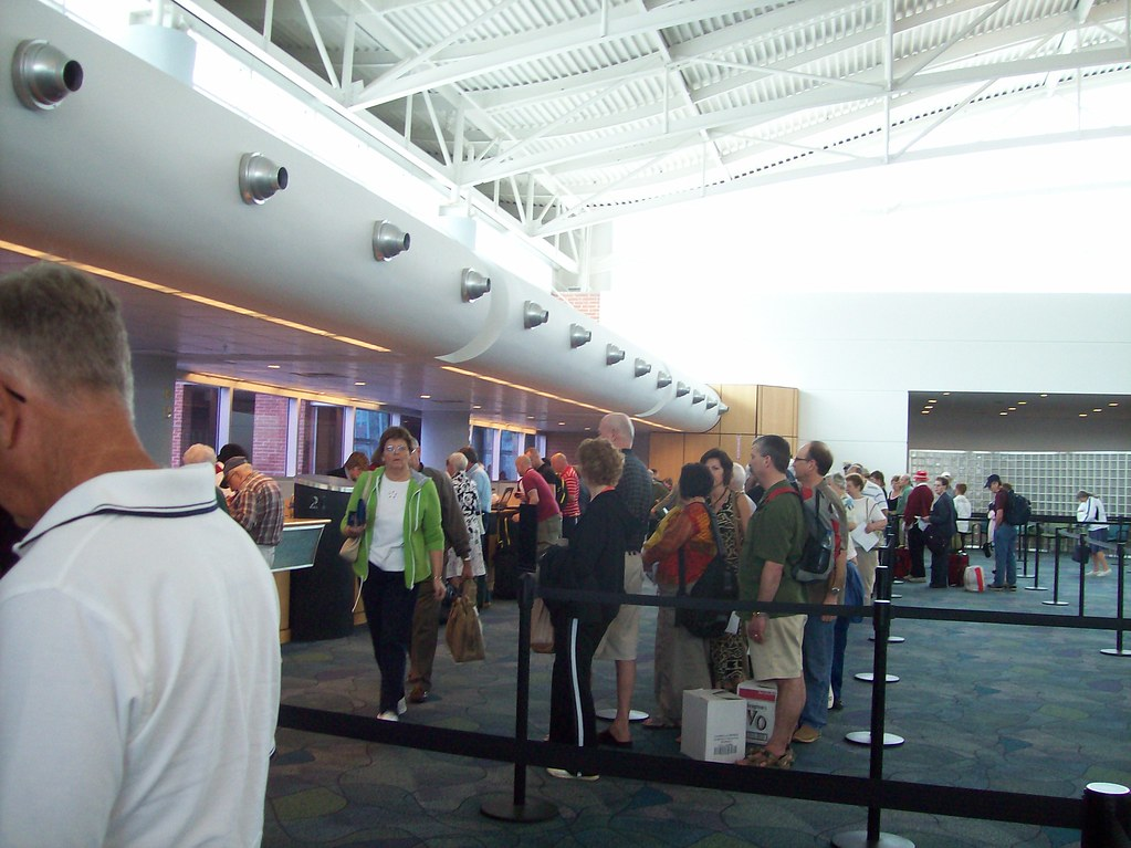 Boarding Line - Tampa