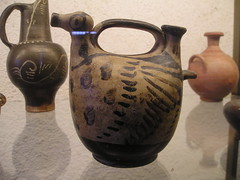 drinkware(0.0), iron(0.0), ceramic(0.0), teapot(0.0), art(1.0), jug(1.0), pottery(1.0), pitcher(1.0), antique(1.0),