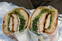 Cutlet, Mozz, Pesto, Brocc Rabe