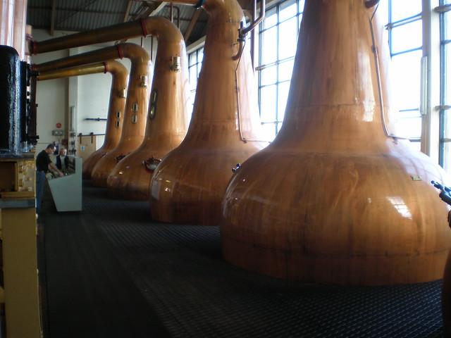 Still House, Caol Ila Whisky Distillery - Islay