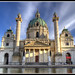 Karlskirche (St. Charles Church), Vienna, Austria by TX French CDN