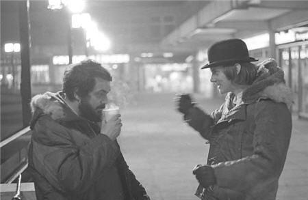 Kubrick and Mcdowell...