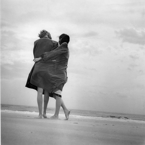 Beach Couple mid 1950's