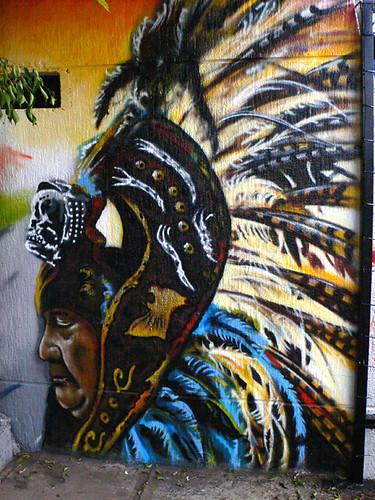 graffiti en el estadio azteca | Flickr - Photo Sharing!