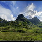 Three Sisters of Glencoe (Highlands)