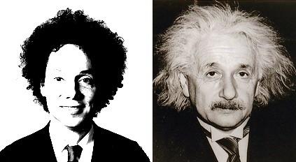 Gladwell and Einstein, men of big hair | Flickr - Photo ...
