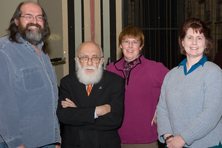 Randi with Springfield Skeptics and Freethinkers | by Wally Hartshorn