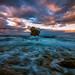 Wavy sea by Vagelis Pikoulas