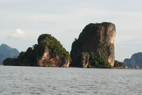 Traveling to the James Bond Island in Thailan