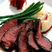 Lemon-Rosemary Grilled Flat Iron Steak