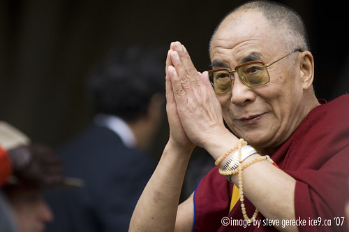 Dalai bids peace