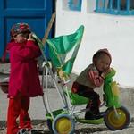 Bored Kyrgyz Children - Murghab, Tajikistan