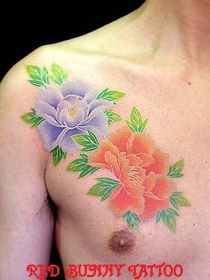 horitsukitattoopeonyflower2