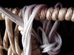 textile, brown, thread, close-up, rope,
