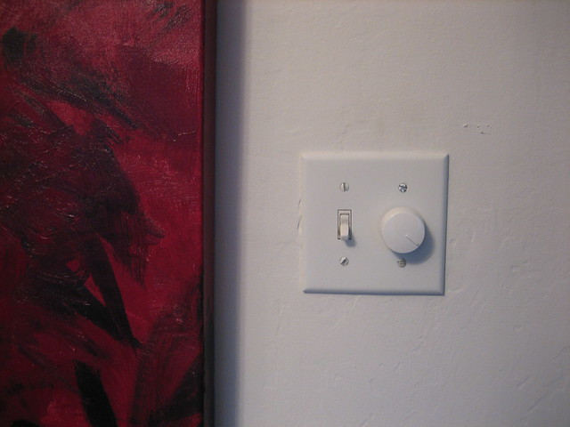 I installed that dimmer switch.