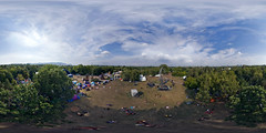 Island 2007: Kite Aerial Panorama