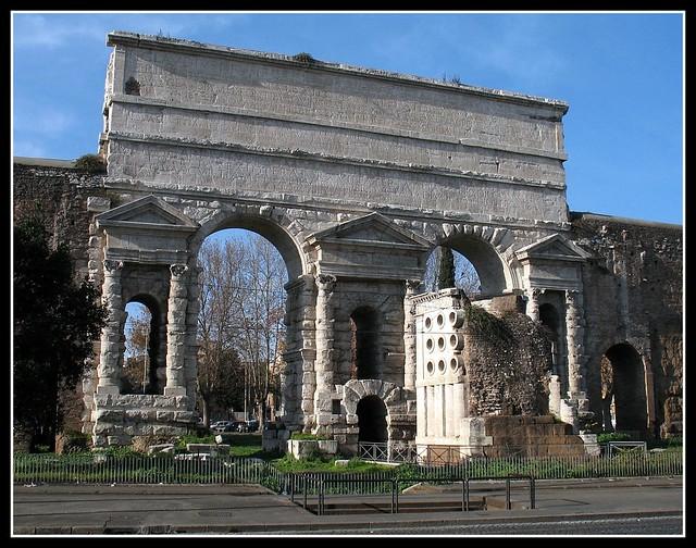 Roma porta maggiore flickr photo sharing - Rome porta maggiore ...