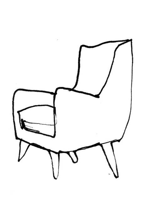 Line Drawing Chair : Chair sketches flickr photo sharing