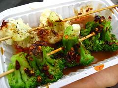 meal, lunch, broccoli, vegetable, vegetarian food, produce, food, dish, cuisine,