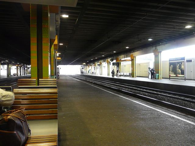 La gare St Roch de Montpellier