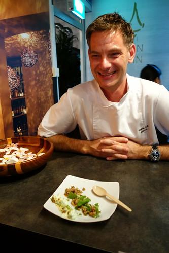 Chef Henrik Yde of Kiin Kiin at Savour 2014