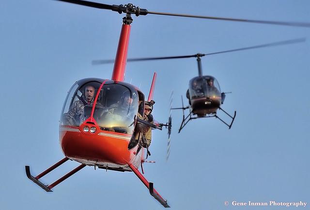 Sunday Morning, Helicopter Hog Hut - Nikon D800, iPad edit & upload