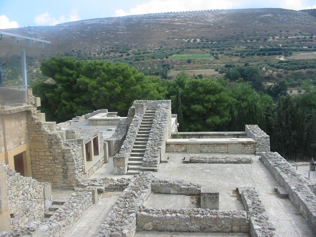 Knossos, Crete - Escher stairs