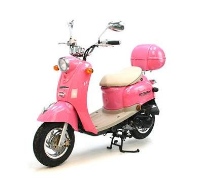 50cc retro scooter pink flickr photo sharing. Black Bedroom Furniture Sets. Home Design Ideas