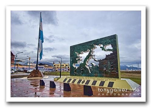 monumento a los caídos en la Guerra de las Malvinas